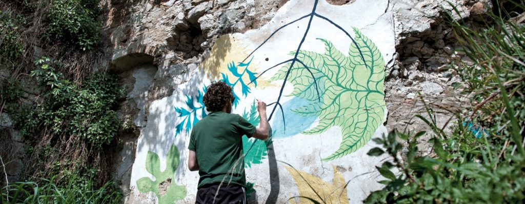 Street art a Civitacampomarano
