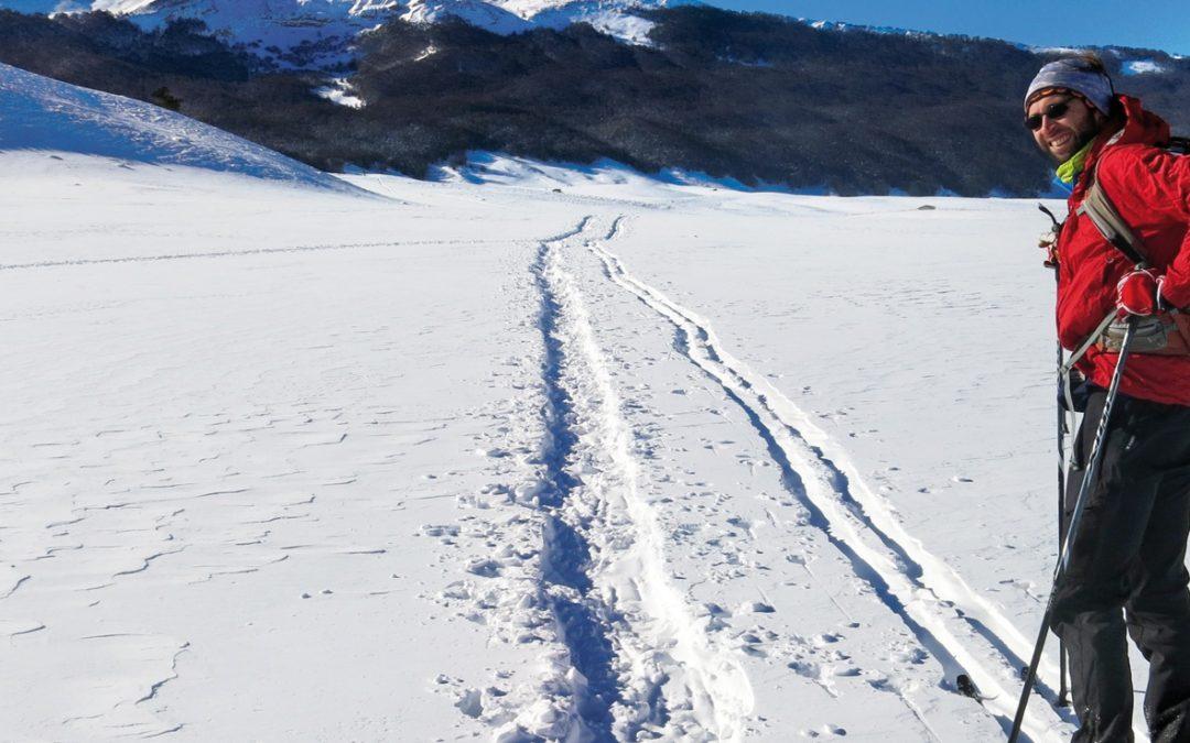L'anello di Monte Puzzillo a Campo Felice con le ciaspole e gli sci