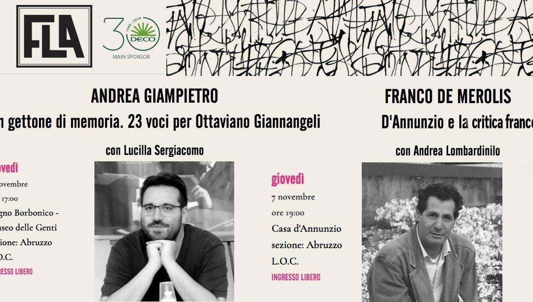 Edizioni Menabò al FLA Pescara Festival