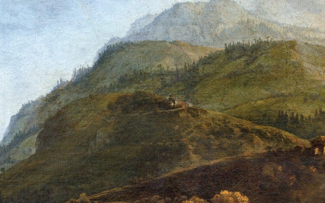 Il pittore Carl Borromäus Ruthart in Abruzzo