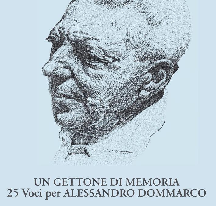 Presentazione del libro dedicato ad Alessandro Dommarco