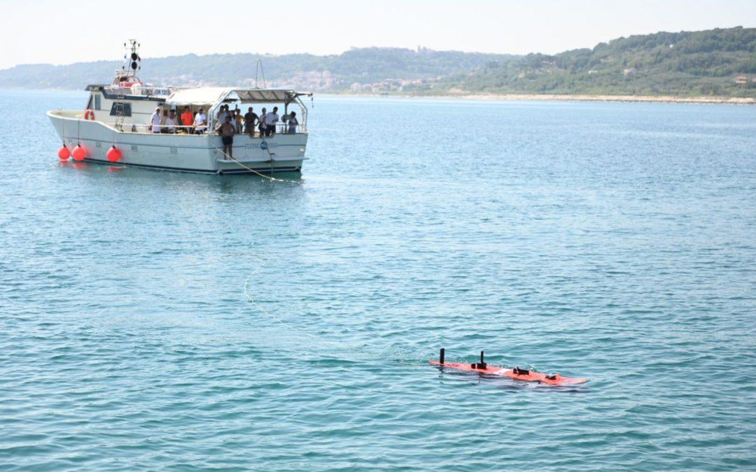 La salute del mare Adriatico studiata dal drone sottomarino Blucy